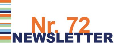 Newsletter Nr. 72 ist da!