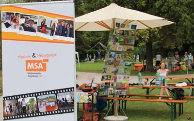 Die MSA ist auf dem Kinderfriedensfest