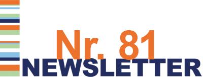 Newsletter Nr. 81 ist da!